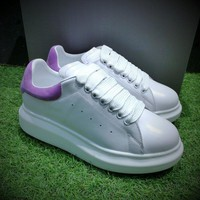 Alexander Mcqueen Sole Sneakers White / Purple