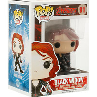 Funko Marvel Avengers: Age Of Ultron Pop! Black Widow Vinyl Bobble-Head