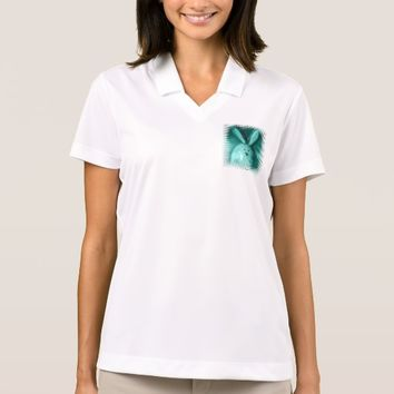 Happy Easter Blue Bunny Women's Polo Shirt