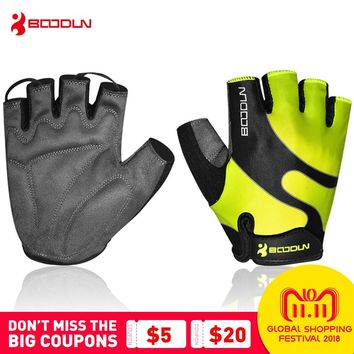 Boodun Cycling Gloves Gym Training Men Women Sports Bike Gloves Fitness Breathable Comfortable Mtb Gloves Guantes Ciclismo