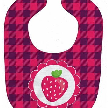 Stawberry Baby Bib BB7105BIB