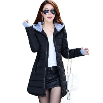 Buttons women's coats sobretudo feminino casacos de inverno feminino anorak parka mujer winter gloves coat autumn jacket women