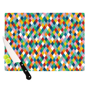 "Project M ""Harlequin"" Cutting Board"