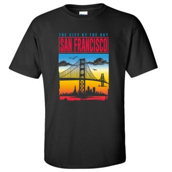 SF City By The Bay Asst Colors T-shirt/tee