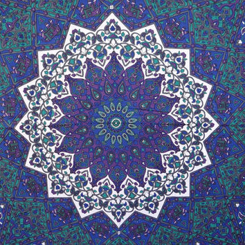 Star Mandala Tapestries hippie tapestries bedspread wall decor dorm Indian Handmade decor curtain