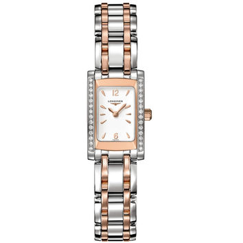 Longines - Ladies' Dolce Vita Rose Bicolour Diamond L5.158.5.19.7