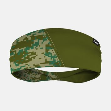 Arsenal Digi Camo Olive Green Headband
