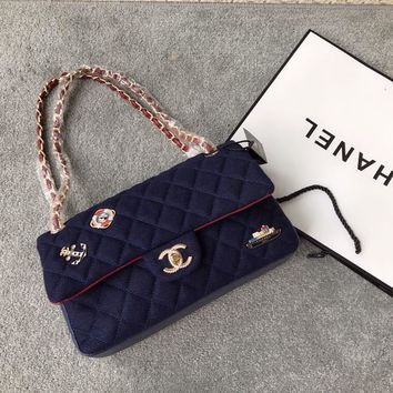 Chanel Paris-Hamburg Badge Crossbody Shoulder Bag