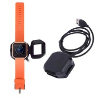 Plastic Magnetic Wireless Charging Cradle Charger Dock For Fitbit Blaze Combo Charger Smart Watch