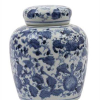 Chinoiserie Ginger Jar no.3