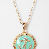 Newport Nautical Charm Necklace