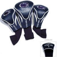 Penn State Nittany Lions Golf Club 3 Piece Contour Headcover Set