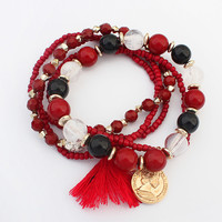 Shiny New Arrival Great Deal Awesome Gift Hot Sale Stylish Elastic Bracelet [4918813828]