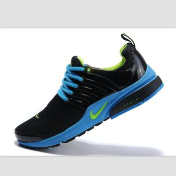 NIKE new leisure sports shoes Black sapphire blue