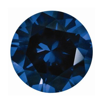Loose Sapphire  Blue  2.25mm Round Diamond Gemstone Cut   I1 Clarity And G/I Color