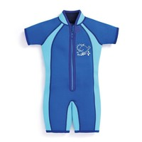 Kids Color Block Wetsuit (Blue) by JoJo Maman Bebe