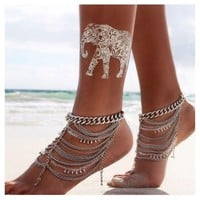 Water for Elephants - Boho Temporary Tattoos