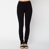 High Waisted Skinny Pants with Pocket