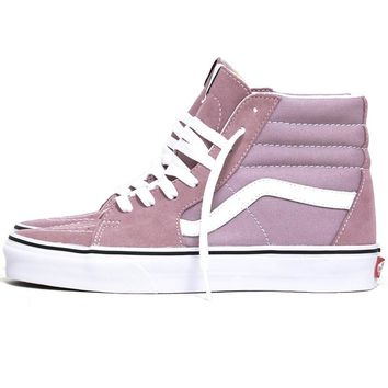 Sk8-Hi Women's Sneakers Sea Fog / True White