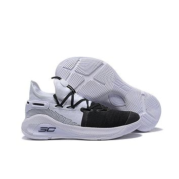 Under Armour Curry 6 - Black/White