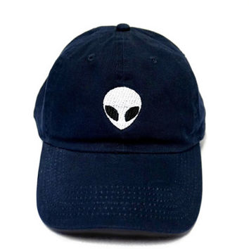 Alien Embroidered Baseball Cap