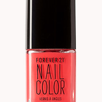 Coral Splash Nail Polish