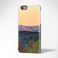 Mountain Sunset iPhone 6 Case,iPhone 6 Plus Case,iPhone 5s Case,iPhone 5C Case,4/4s ,Samsung Galaxy S6 Edge/S6/S5/S4/S3/Note 3/Note 2 Case