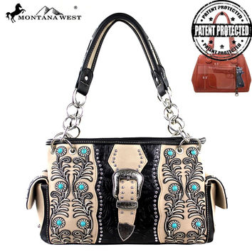 Montana West MW221G-8085 Concealed Carry Handbag