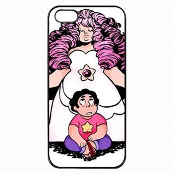 Steven Universe Steven and Rose Quartz 2 Custom Diy Unique Image Durable Rubber Silicone Case for Iphone 4 4S Case: Amazon.ca: Cell Phones & Accessories