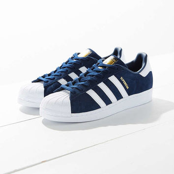 adidas Suede Superstar Sneaker - Urban Outfitters