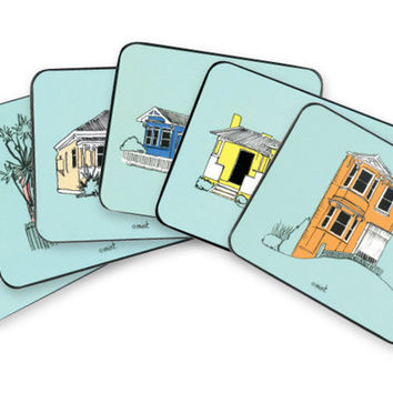New Zealand Villas Coaster Set
