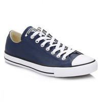 Converse Nighttime Navy All Star OX Leather Trainers
