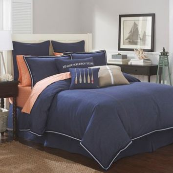 Southern Tide Indigo European Pillow Sham in Indigo