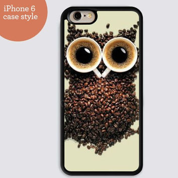 iphone 6 cover,Coffee bean Owl iphone 6 plus,Feather IPhone 4,4s case,color IPhone 5s,vivid IPhone 5c,IPhone 5 case Waterproof 209