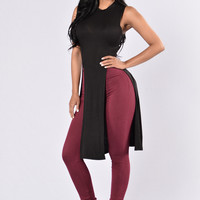 Abyss Top - Black