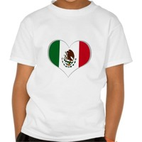 Mexican flag tshirts
