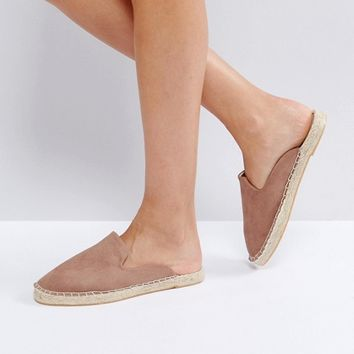 New Look Espadrille Mule at asos.com