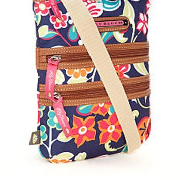 Lily Bloom Mini Triple Zip Crossbody Bag  - Belk.com