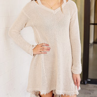 Knitted Girl Sweater  DK7665L