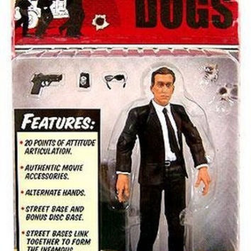 Reservoir Dogs Mr Orange Action Figure by Mezco Toys NIB Tim Roth 2001