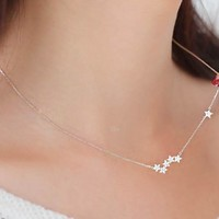 Sterling Silver Starry Skys Necklace