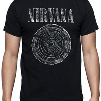 Nirvana t shirt NEW punk rock metal cool hipster emo gothic retro hip vintage grung seattle pearl