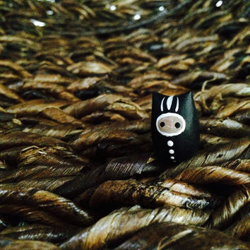 Skunk Tieke - Polymer Clay Animal Totem