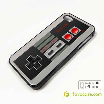 NINTENDO GAME CONTROLLER Retro Stick iPhone 4/4S 5/5S/SE 5C 6/6S 7 8 Plus X Case Cover