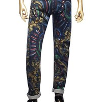 Versace - Hand Painted Jeans