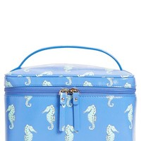kate spade new york 'natalie seahorses - large' cosmetic case | Nordstrom