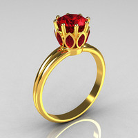 Modern Antique 22K Yellow Gold Marquise and 10 CT by artmasters