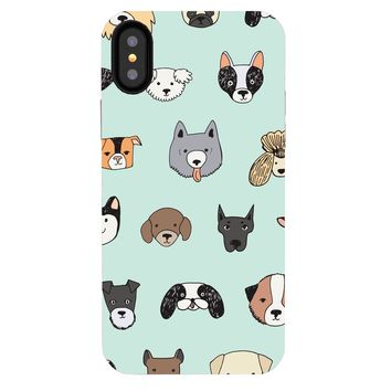iPhone XS / X Case - Doggos