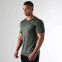 Sports Casual Summer Permeable Slim T-shirts [10657853507]
