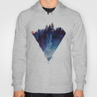 Near to the edge Hoody by Robert Farkas